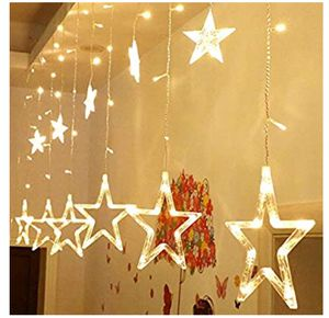 138 LED Star Window Curtain String Lights, for Sale in Philadelphia, PA