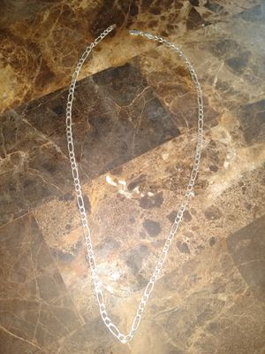 .925 Italy Silver Cuban Link Kids Chain for Sale in Kennewick, WA