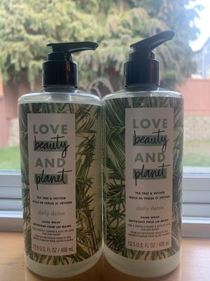 Beauty and Planet Hand wash 13.5oz (Pack of 2) for Sale in Mukilteo, WA