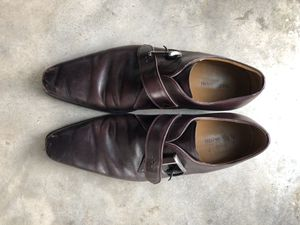 Magnanni dress shoes burgundy for Sale in San Diego, CA