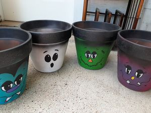 Flower Pots 10x10 inches. for Sale in Pasadena, TX