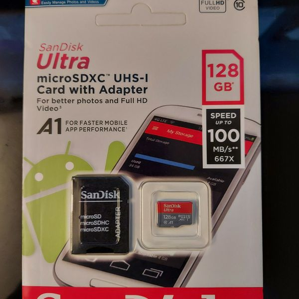Sd Card 128gb $20