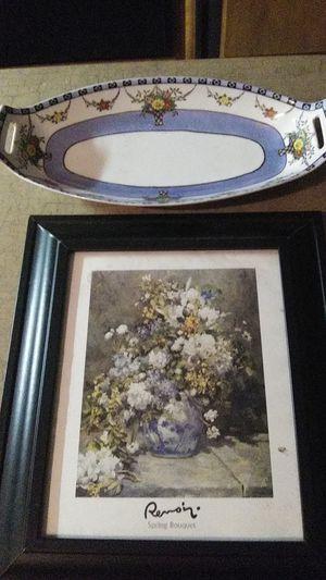 Picture and entry. Matching quality collectors dish for Sale in Victoria, TX
