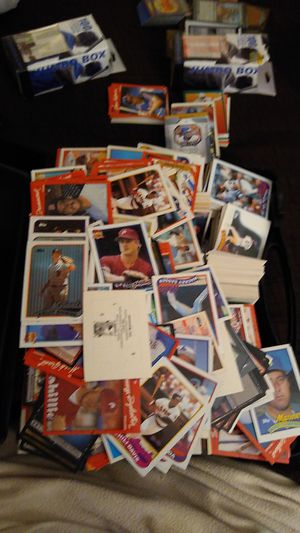 Several thousand baseball/football cards for Sale in Henderson, NV