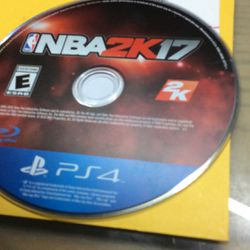 PS4 NBA 2k 17 for Sale in Hialeah,  FL