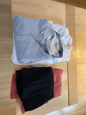 3 DRESS SHIRTS (XL) and 2 DRESS PANTS for Sale in Orono, ME