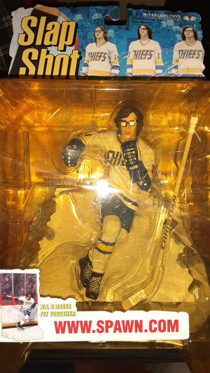 "McFarlane Toys Spawn The Hanson Brothers Slap Shot ""Jeff Hanson"" Action Figure for Sale in Elkins Park, PA"