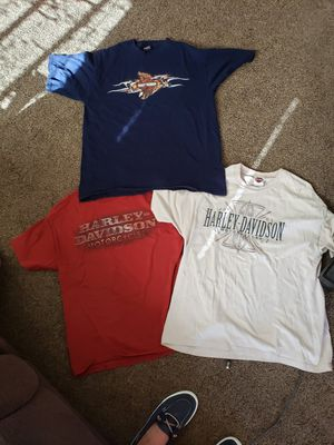 Mens Harley Davidson shirts. 2 XL, 1 large. Selling together, all good condition, no stains for Sale in Murfreesboro, TN