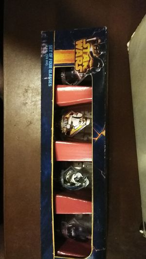 Star wars collectors shot glass collection for Sale in Jacksonville, FL