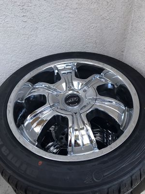 American racing wheels and tires for Sale in Stockton, CA