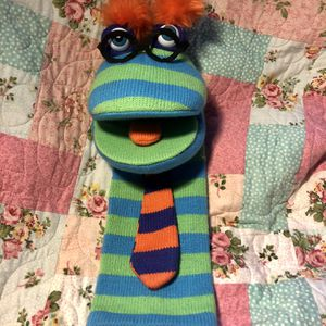 Knit Sock Puppet Toy for Sale in Nashua, NH