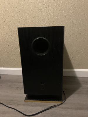 Onkyo Sound Subwoofer for Sale in Modesto, CA