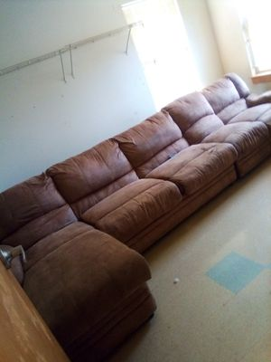 3 pc sectional couch with hideabed for Sale in Maple Valley, WA