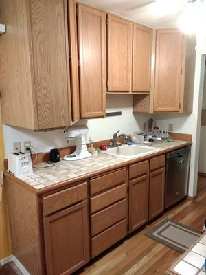 Free kitchen cabinets - great for garage or storage for Sale in Seattle, WA
