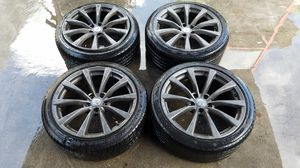 "2008 INFINITI G37 COUPE 19"" SPARE TIRE WHEEL RIM (SET OF 4) for Sale in Fort Lauderdale, FL"
