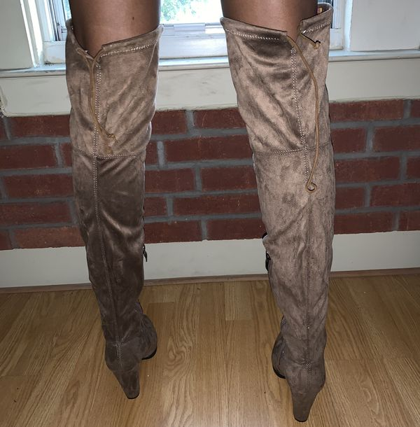 Over the knee / thigh high boots - size 9