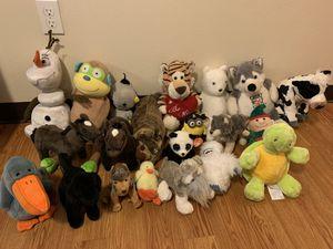 Stuffed animal lot for Sale in Seattle, WA