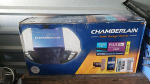 Brand new in the box never been opened chamberlain smart gerage door opener for Sale in Salt Lake City, UT