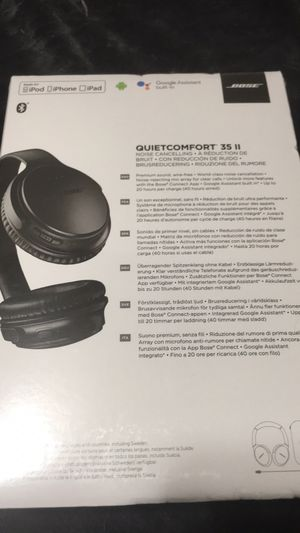 Bose brand new unopened in the box , quiet comfort 35 series for Sale in Millersville, MD