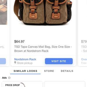 TSD Tapa Canvas mail Bag New for Sale in Auburn, WA