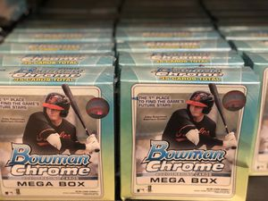 Bowman Chrome 2020 Mega Box baseball ⚾️ panini for Sale in Orlando, FL
