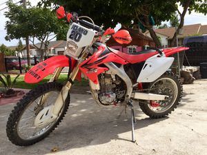 2006 Honda CRF450X $3,600 for Sale in San Leandro, CA