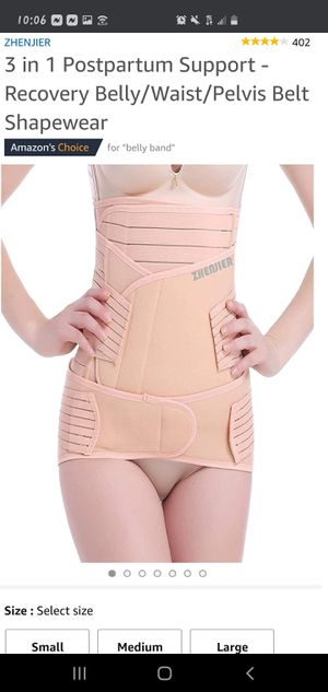 POST PARTUM BELLY /BODY WRAP for Sale in North Providence, RI