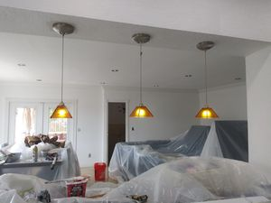 Kitchen island pendant lights. Set of three. for Sale in Hialeah, FL