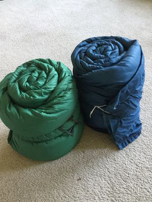 TWO SLEEPING BAGS. 🏕🏕 for Sale in Belleville, IL
