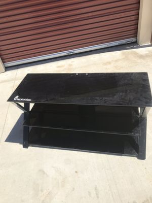Glass TV Entertainment System for Sale in Chico, CA