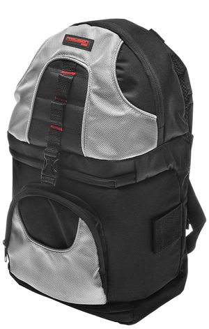 Brand New Precision Design PD-BP2 Deluxe Sling Digital SLR Camera Backpack Case (Black/Silver) for Sale in Pittsburgh, PA