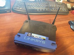 LINKSYS Wireless-G Broadband Router for Sale in Kings Mountain, NC