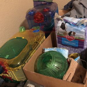 Hamster Cage And Accessories for Sale in Carlsbad, NM