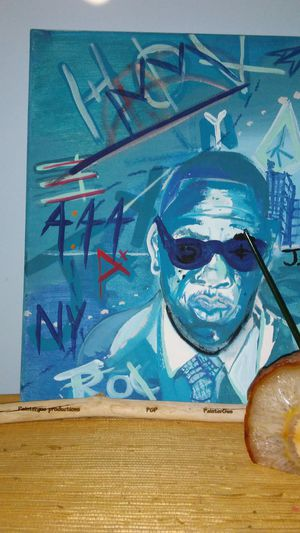 Jay Z brand new original ART painting 11 x 14 @PainterGus for Sale in Columbus, OH