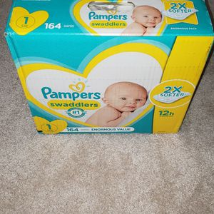 Pampers Swaddlers Size 1 for Sale in King of Prussia, PA