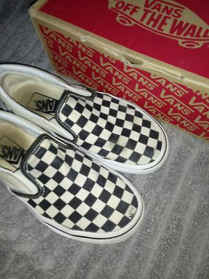 Checkered vans for Sale in Houston, TX