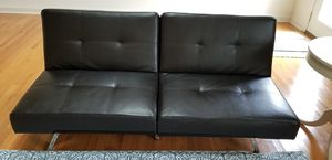Leather futon and sofa for Sale in Gainesville, VA