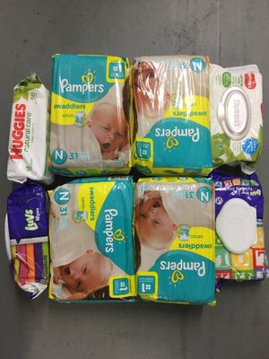 Baby / Diapers/ Wipes / Child / Baby shower / Children/kids for Sale in Charlotte, NC