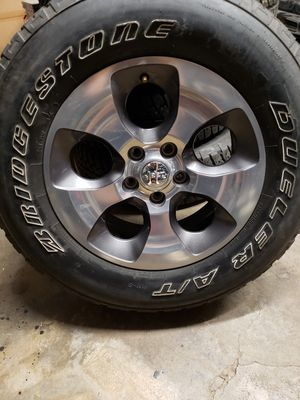 "Jeep Wrangler wheels 18"" FIRM PRICE NOTHING LESS for Sale in Houston, TX"