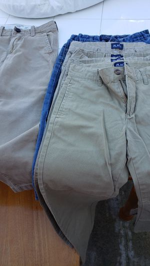 Size 8 boy khaki pants for Sale in San Antonio, TX