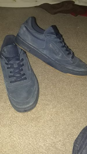 Reebok classic navy blue sneakers, size: 10 1/2 for Sale in Nashville, TN