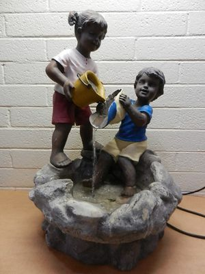 Boy and Girl Large Water Fountain for Sale in Phoenix, AZ