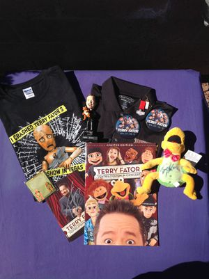 TERRY FATOR FAN COLLECTABLE LOT for Sale in Las Vegas, NV