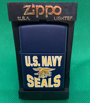 Zippo Lighter Navy Seals, never opened or used for Sale in Snohomish, WA