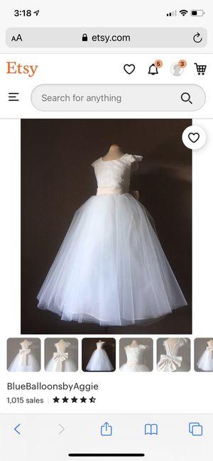 Flower Girl Dress, Custom made for Sale in Chicago, IL