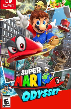SUPER MARIO ODYSSEY for Nintendo Switch for Sale in San Diego, CA