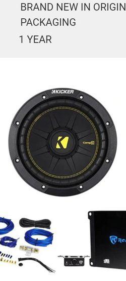 Kick Comp C 8 Inch Sub for Sale in Stockton,  CA