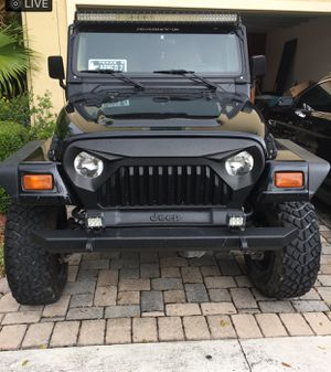 Jeep for TRADE ONLY for muscle car (Camaro, Trans Am, Mustang) for Sale in Fort Lauderdale, FL