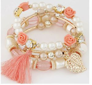 Beautiful Pink multiple bracelet for Sale in East Haven, CT