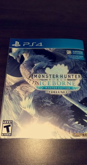 [Brand New] MHW: Iceborne Master Edition Deluxe [PS4] for Sale in Huntington Beach, CA